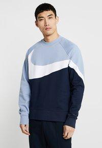 Nike Sportswear - CREW - Sweater - obsidian/white/indigo fog - 0