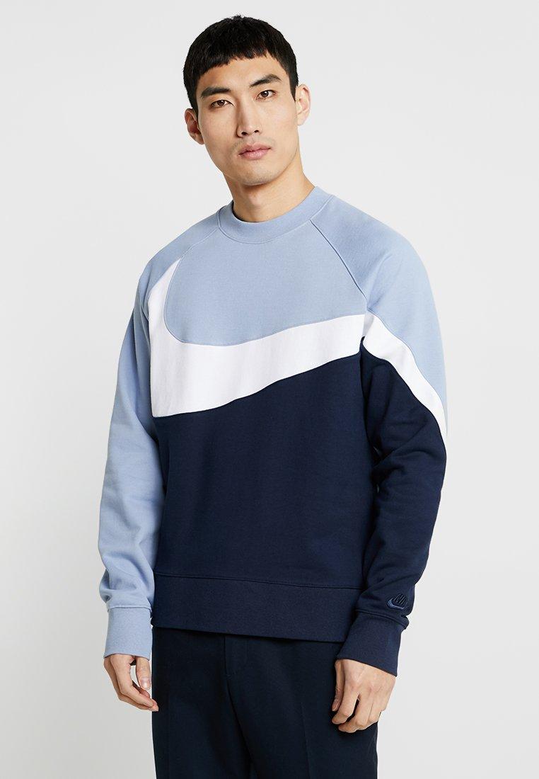 Nike Sportswear - CREW - Sweater - obsidian/white/indigo fog
