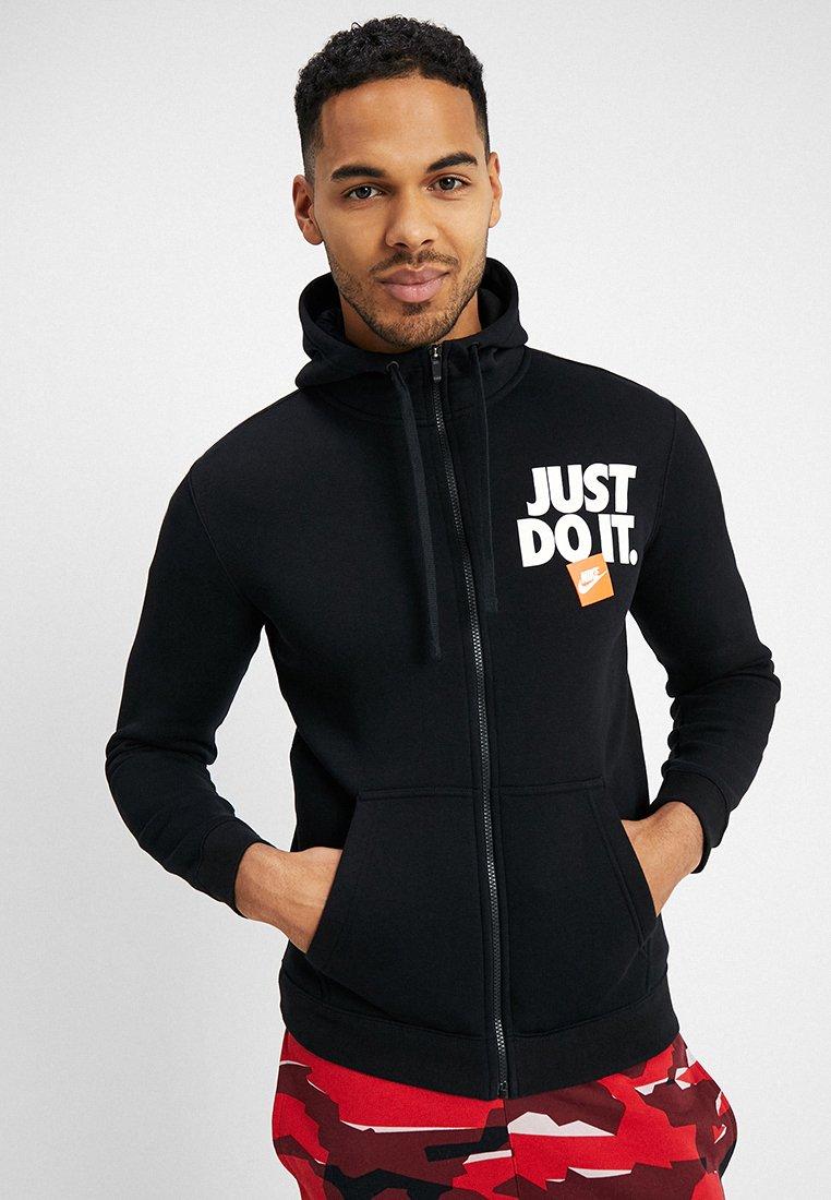 Nike Sportswear - HOODIE  - Zip-up hoodie - black