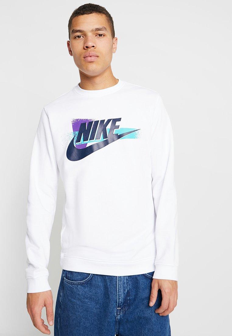 Nike Sportswear - CREW FESTIVAL - Sweatshirt - white