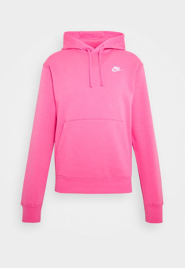 Club Hoodie - Jersey con capucha - pinksicle/white