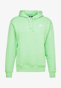 green, white