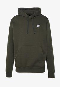 Nike Sportswear - CLUB HOODIE - Hoodie - sequoia - 3