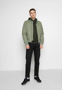 Nike Sportswear - CLUB HOODIE - Hoodie - sequoia - 1