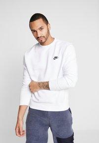 Nike Sportswear - CLUB - Sweatshirt - white - 0
