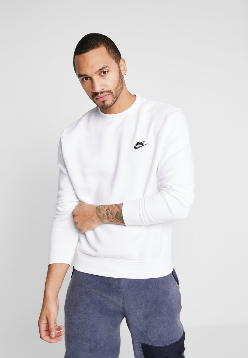 Nike Sportswear - CLUB - Sweatshirt - white