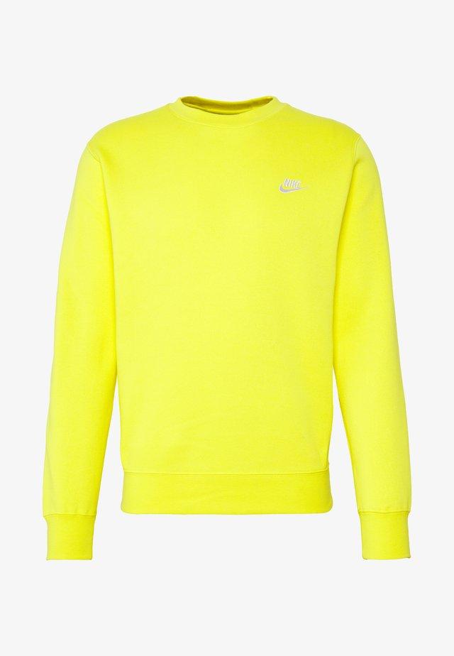 CLUB - Sweater - opti yellow/white