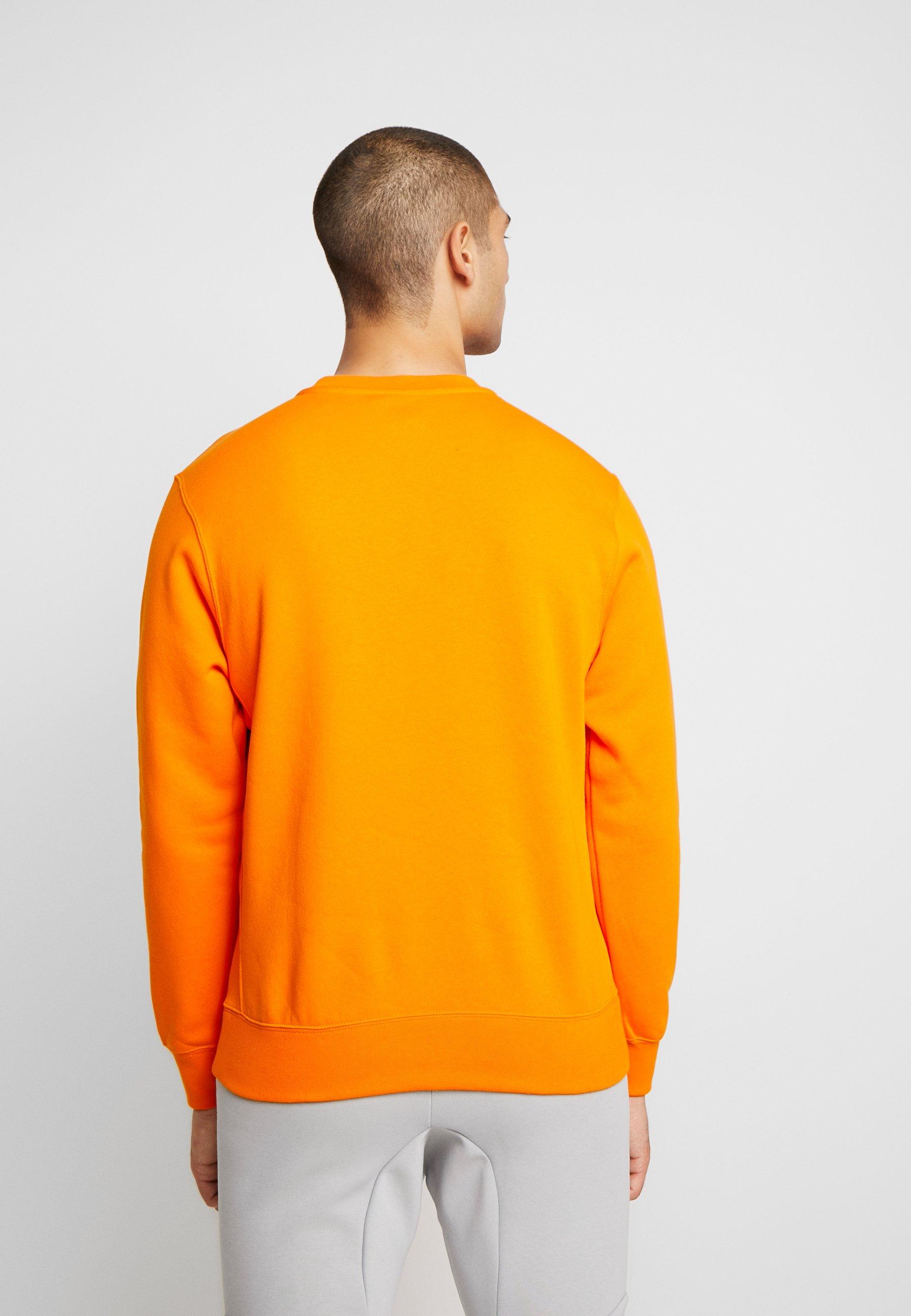 CLUB Sweatshirt magma orangewhite