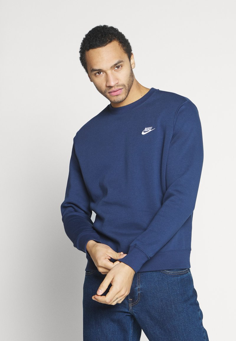 Nike Sportswear - CLUB - Sweatshirts - midnight navy