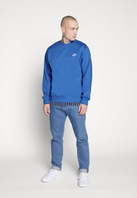 Nike Sportswear - CLUB - Sweater - pacific blue/white - 1