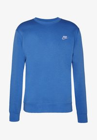 Nike Sportswear - CLUB - Sweater - pacific blue/white - 3