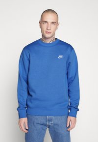 Nike Sportswear - CLUB - Sweater - pacific blue/white - 0