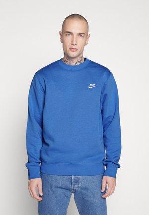 CLUB - Bluza - pacific blue/white