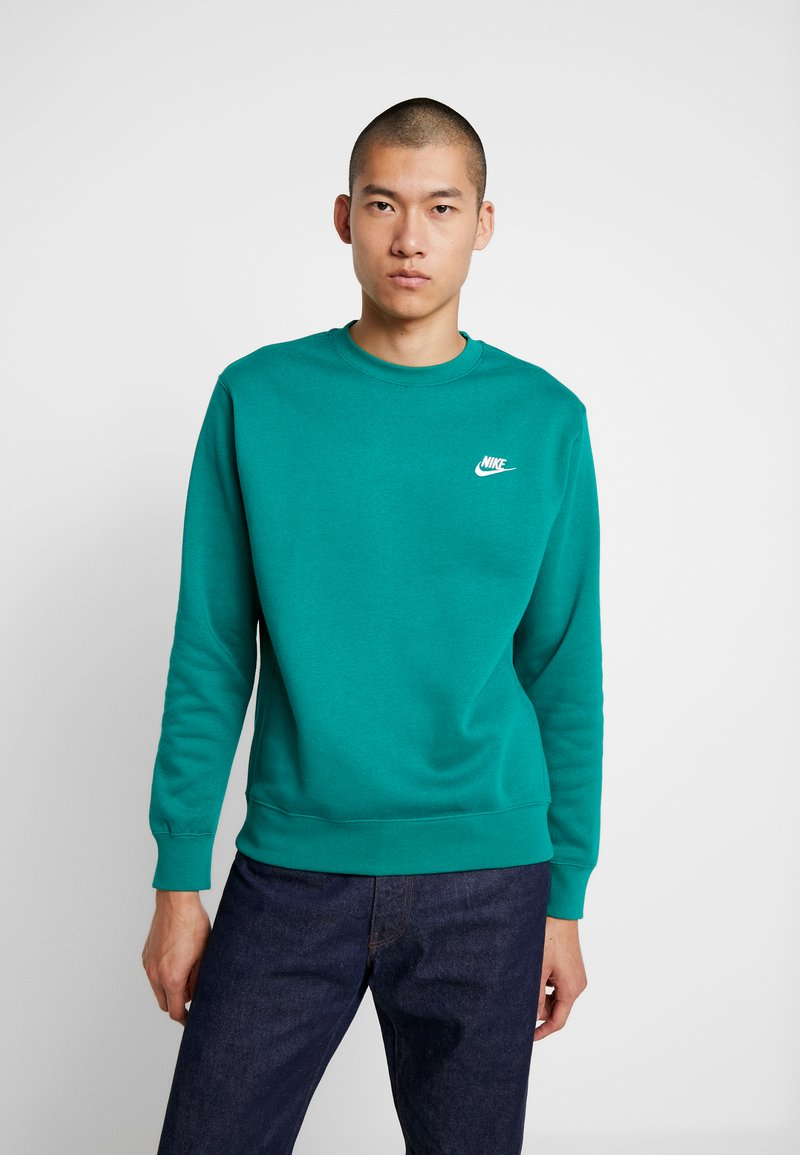 Nike Sportswear - CLUB - Sweatshirt - mystic green/white