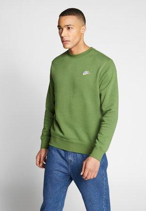 CLUB - Sweater - treeline/white