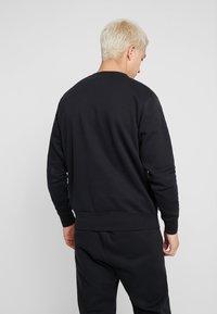Nike Sportswear - CLUB - Sweatshirt - black/white - 2