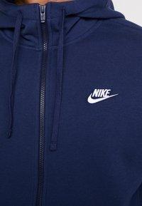 Nike Sportswear - veste en sweat zippée - midnight navy/white - 5