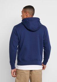 Nike Sportswear - veste en sweat zippée - midnight navy/white - 2