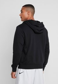Nike Sportswear - CLUB HOODIE - Collegetakki - black/white - 2