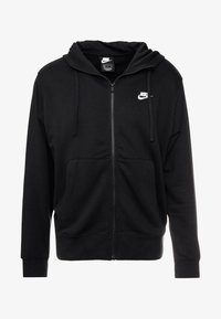 Nike Sportswear - CLUB HOODIE - Collegetakki - black/white - 4