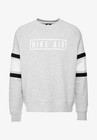 Nike Sportswear - AIR CREW  - Sweater - grey heather/white/black - 4