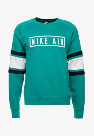 AIR CREW  - Sweatshirt - mystic green/white/black