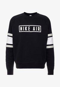 Nike Sportswear - AIR CREW  - Sweatshirt - black/white/grey heather - 4