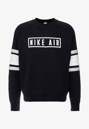 AIR CREW  - Sweatshirt - black/white/grey heather