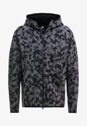 HOODIE  - Mikina na zip - atmosphere grey/black