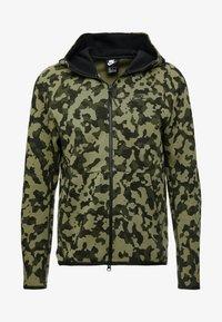 Nike Sportswear - HOODIE  - Hoodie met rits - medium olive/black - 4