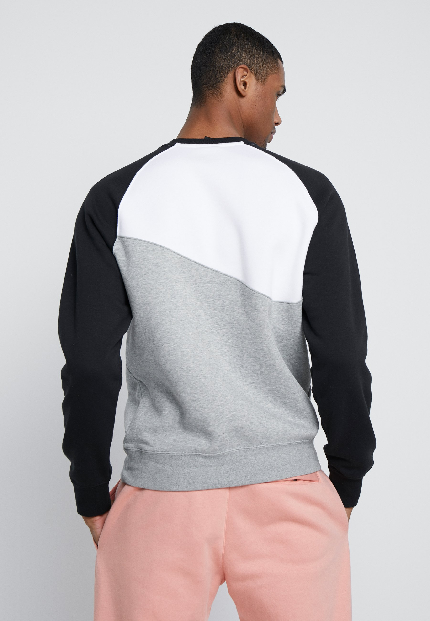 Grey Nike white Sportswear Heather CrewSweatshirt black 7gYbf6y