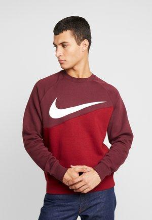 CREW - Sweatshirt - team red/night maroon/white