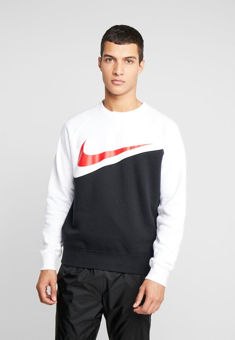 Nike Sportswear - CREW - Sweater - black/white/ red