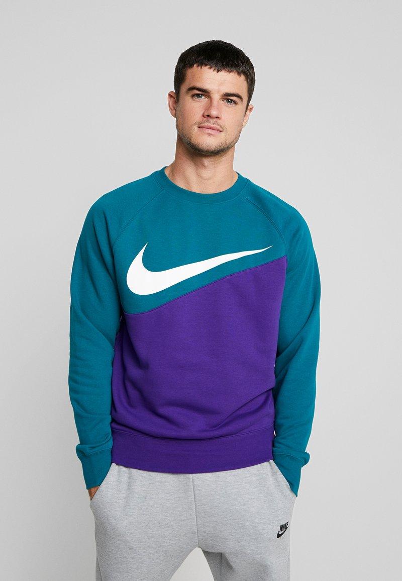 Nike Sportswear - Sweatshirt - court purple/geode teal/white