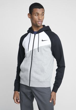 Collegetakki - grey heather/white/black