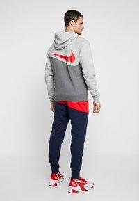 Nike Sportswear - Mikina na zip - charcoal heathr/grey heather - 2