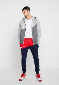 Nike Sportswear - Mikina na zip - charcoal heathr/grey heather - 1