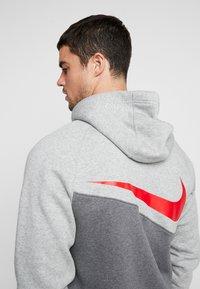 Nike Sportswear - Mikina na zip - charcoal heathr/grey heather - 3