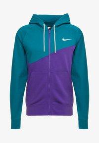 Nike Sportswear - HOODIE - Collegetakki - court purple/geode teal/white - 4