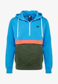 Nike Sportswear - CLUB HOODIE - Hoodie - photo blue/galactic jade/white - 5