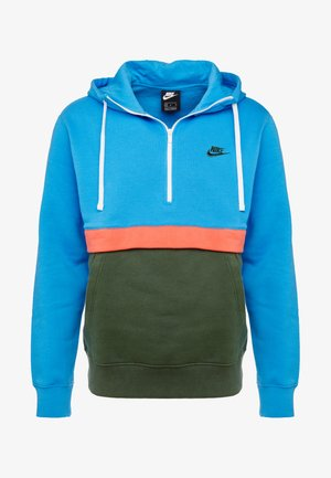 CLUB HOODIE - Hoodie - photo blue/galactic jade/white