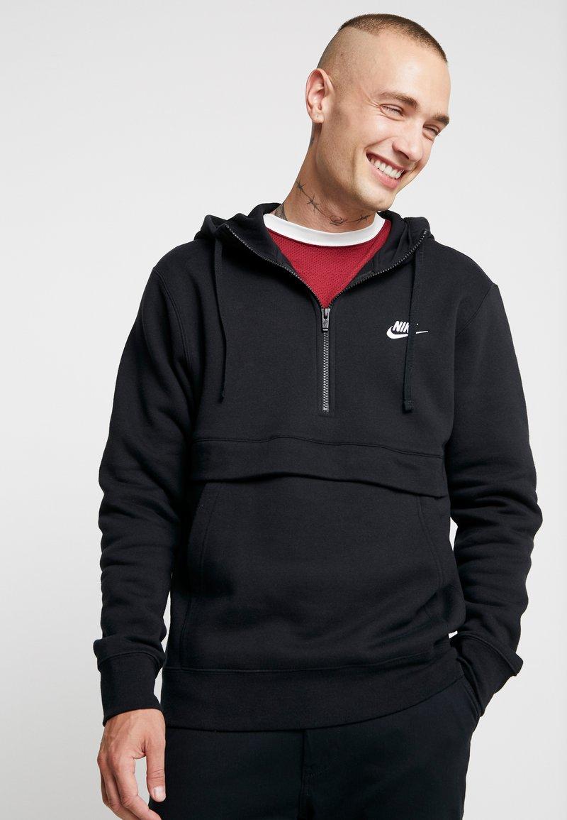 Nike Sportswear - CLUB HOODIE - Hættetrøjer - black