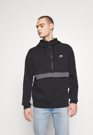 CLUB HOODIE - Jersey con capucha - black