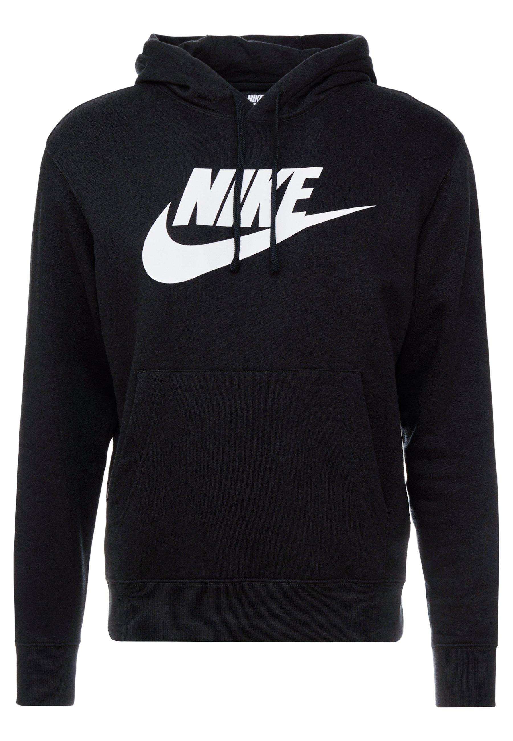 Nike Sportswear Club - Sweat À Capuche Black/white