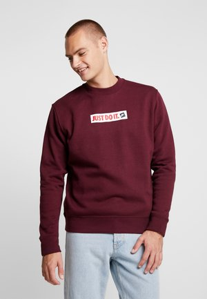 Sweater - night maroon