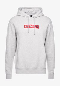 Nike Sportswear - FLC BSTR - Hoodie - grey heather - 3