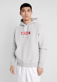 Nike Sportswear - FLC BSTR - Hoodie - grey heather - 0