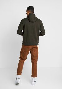 Nike Sportswear - HOODIE MIX - Felpa con cappuccio - sequoia/white - 2