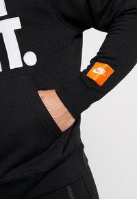 Nike Sportswear - HOODIE MIX - Sweat à capuche - black - 5