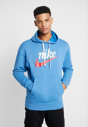 HERITAGE HOODIE  - Bluza z kapturem - battle blue heather